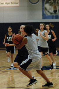 Girls Basketball Blue Silver Scrimmage 054