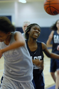 Girls Basketball Blue Silver Scrimmage 031