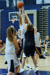 Girls Basketball Blue Silver Scrimmage 025