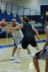 Girls Basketball Blue Silver Scrimmage 035
