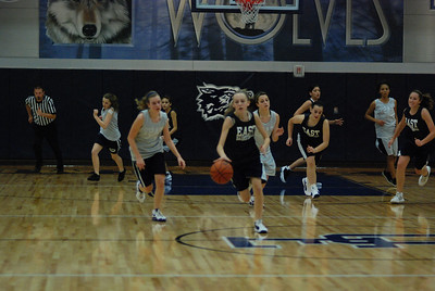 Girls Basketball Blue Silver Scrimmage 144