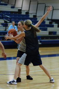 Girls Basketball Blue Silver Scrimmage 061