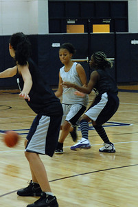Girls Basketball Blue Silver Scrimmage 022