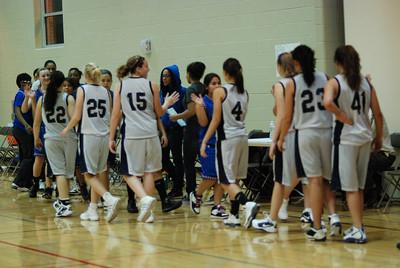 Freshman OE Girls Basketball Vs Larkin 241