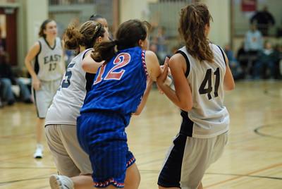 Freshman OE Girls Basketball Vs Larkin 206