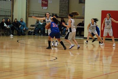 Freshman OE Girls Basketball Vs Larkin 224