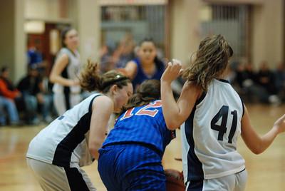 Freshman OE Girls Basketball Vs Larkin 205
