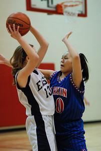 Freshman OE Girls Basketball Vs Larkin 011