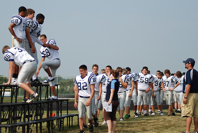 Oswego East Football Players 2010 016