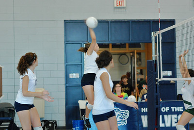 Oswego East volleyball Vs plainfield East 040