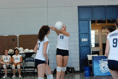 Oswego East volleyball Vs plainfield East 002