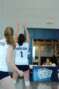 Oswego East volleyball Vs plainfield East 012