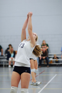 Oswego East volleyball Vs plainfield East 213