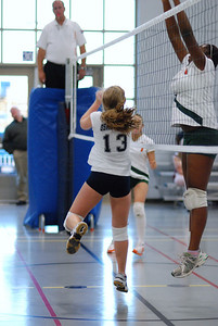 Oswego East volleyball Vs plainfield East 223