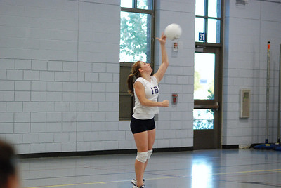 Oswego East volleyball Vs plainfield East 205