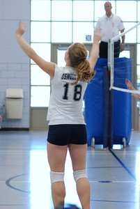 Oswego East volleyball Vs plainfield East 196