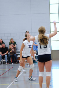 Oswego East volleyball Vs plainfield East 220