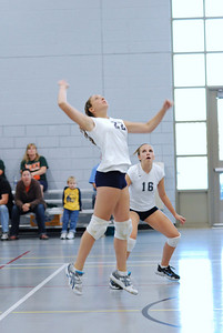 Oswego East volleyball Vs plainfield East 197