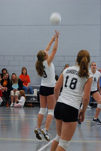 Oswego East volleyball Vs plainfield East 185