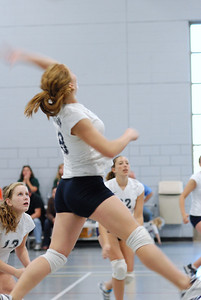 Oswego East volleyball Vs plainfield East 194
