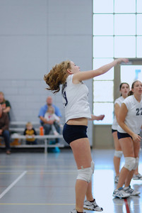 Oswego East volleyball Vs plainfield East 219