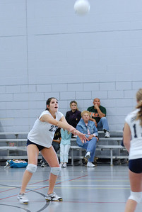 Oswego East volleyball Vs plainfield East 192