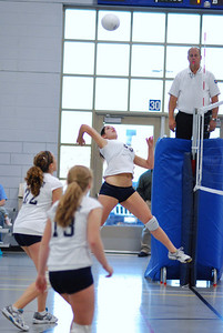 Oswego East volleyball Vs plainfield East 216