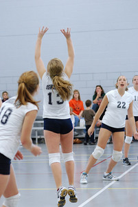 Oswego East volleyball Vs plainfield East 193