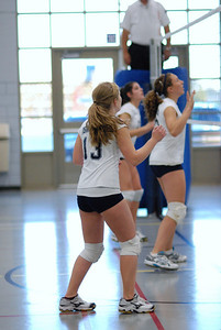 Oswego East volleyball Vs plainfield East 222
