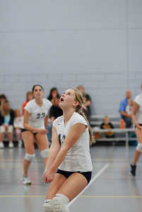 Oswego East volleyball Vs plainfield East 212