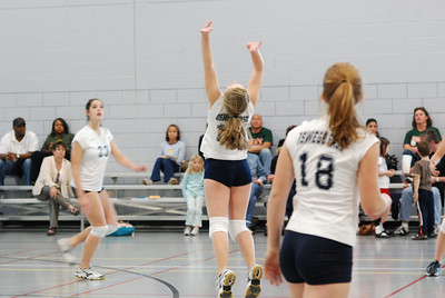 Oswego East volleyball Vs plainfield East 175