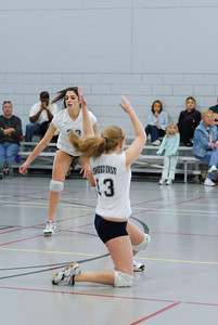 Oswego East volleyball Vs plainfield East 204