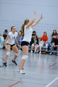 Oswego East volleyball Vs plainfield East 217