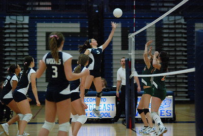 Oswego East volleyball Vs plainfield East 157