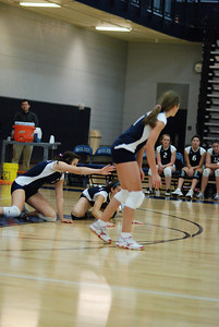 Oswego East volleyball Vs plainfield East 124