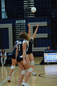 Oswego East volleyball Vs plainfield East 158