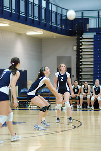 Oswego East volleyball Vs plainfield East 110