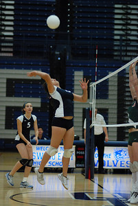 Oswego East volleyball Vs plainfield East 130
