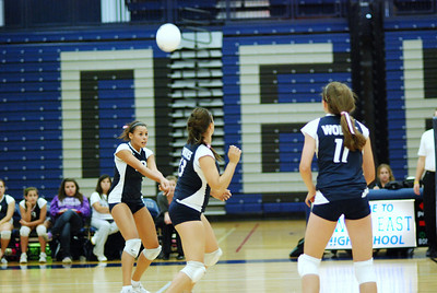 Oswego East volleyball Vs plainfield East 112
