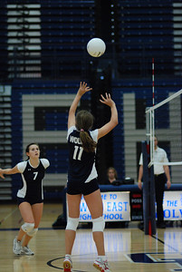 Oswego East volleyball Vs plainfield East 159