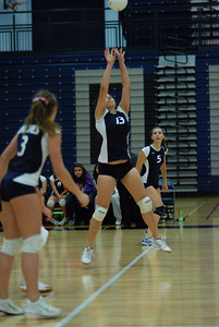 Oswego East volleyball Vs plainfield East 135