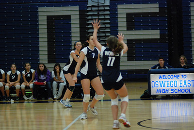 Oswego East volleyball Vs plainfield East 156