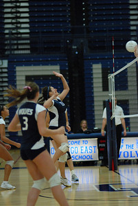Oswego East volleyball Vs plainfield East 137