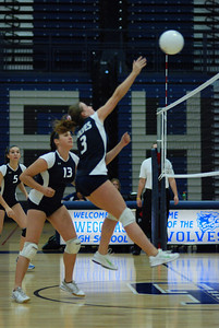Oswego East volleyball Vs plainfield East 134