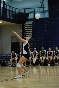 Oswego East volleyball Vs plainfield East 132