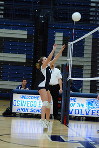Oswego East volleyball Vs plainfield East 123
