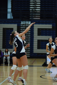 Oswego East volleyball Vs plainfield East 128