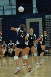 Oswego East volleyball Vs plainfield East 136