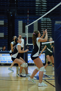 Oswego East volleyball Vs plainfield East 133
