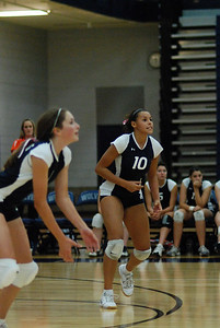 Oswego East volleyball Vs plainfield East 142